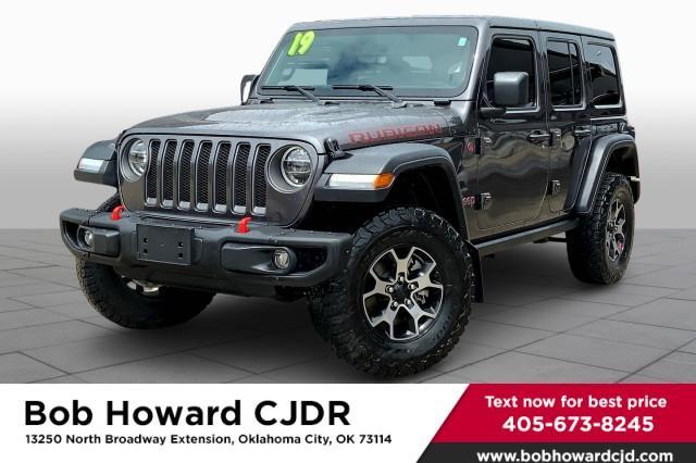 2019 Jeep Wrangler Unlimited Vehicle Photo in Oklahoma City , OK 73114
