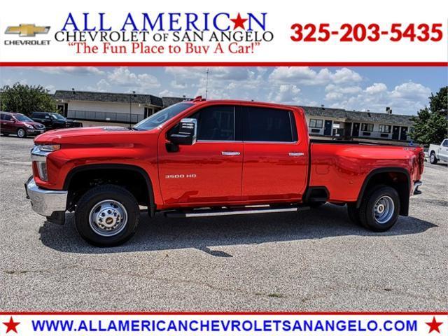 2021 Chevrolet Silverado 3500HD Vehicle Photo in SAN ANGELO, TX 76903-5798