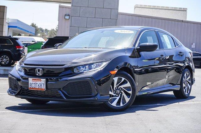 2018 Honda Civic Hatchback Vehicle Photo in Colma, CA 94014