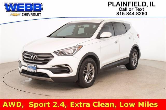 2017 Hyundai Santa Fe Sport Vehicle Photo in Plainfield, IL 60586-5132