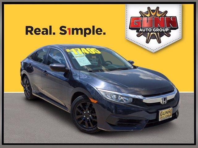 2016 Honda Civic Sedan Vehicle Photo in Selma, TX 78154