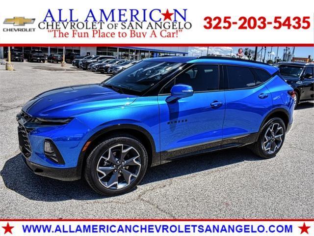 2021 Chevrolet Blazer Vehicle Photo in SAN ANGELO, TX 76903-5798