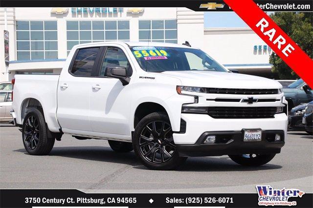 2020 Chevrolet Silverado 1500 Vehicle Photo in PITTSBURG, CA 94565-7121