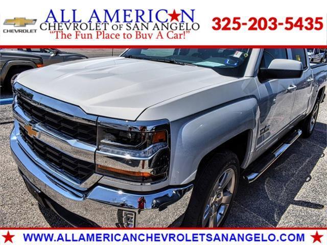 2018 Chevrolet Silverado 1500 Vehicle Photo in SAN ANGELO, TX 76903-5798