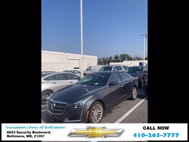 2014 Cadillac CTS Sedan Vehicle Photo in BALTIMORE, MD 21207-4000