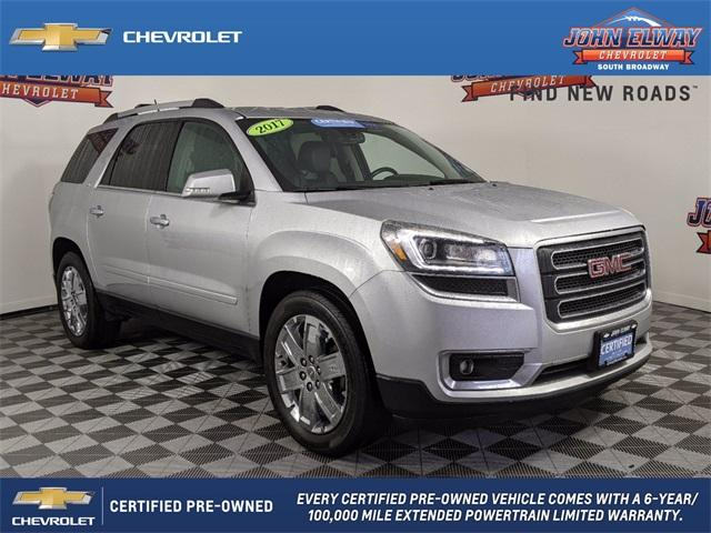 2017 GMC Acadia Limited Vehicle Photo in Englewood, CO 80113