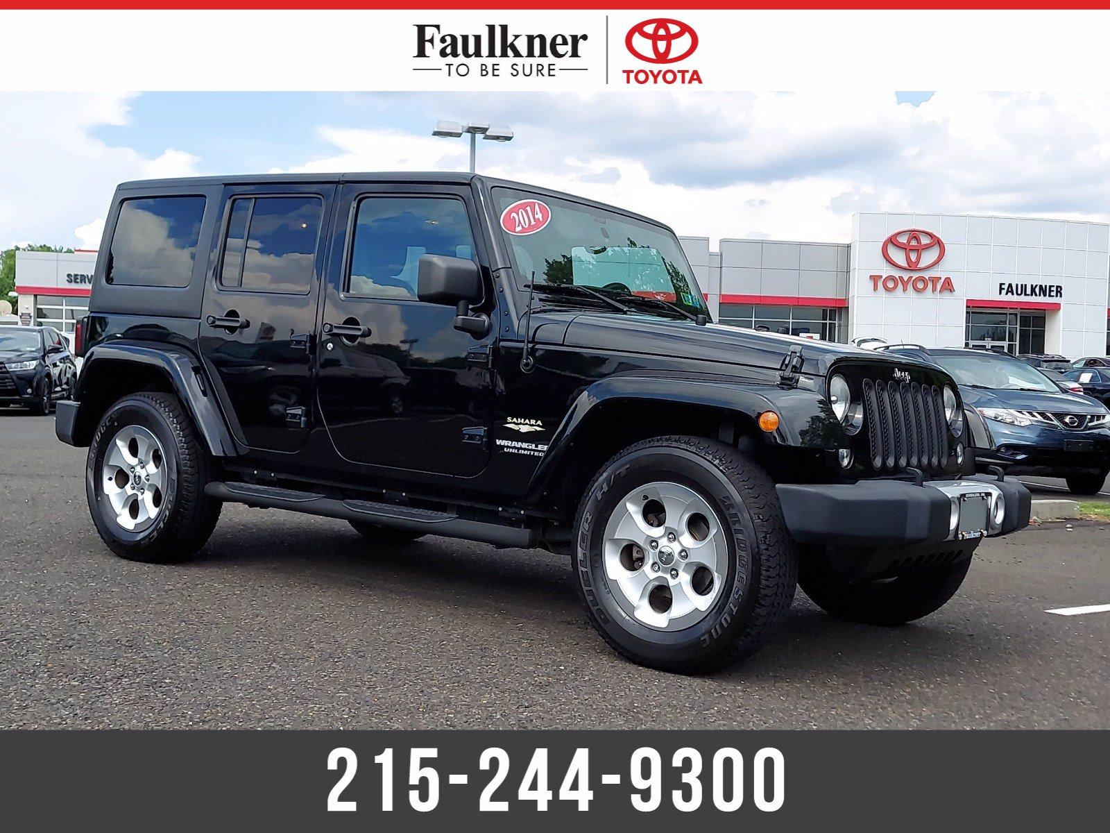 2014 Jeep Wrangler Unlimited Vehicle Photo in Trevose, PA 19053