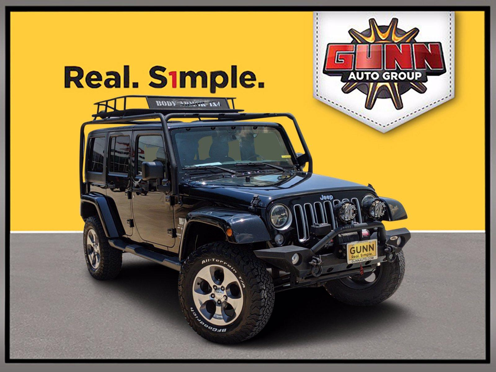 2016 Jeep Wrangler Unlimited Vehicle Photo in SELMA, TX 78154-1459