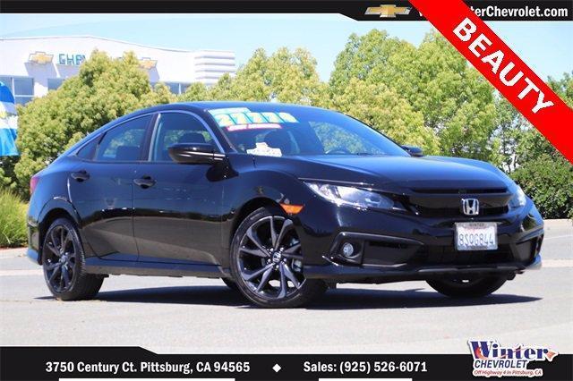 2020 Honda Civic Sedan Vehicle Photo in PITTSBURG, CA 94565-7121