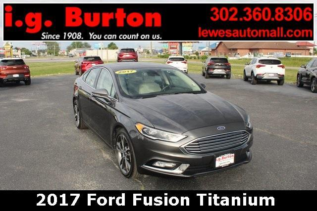 2017 Ford Fusion Vehicle Photo in Lewes, DE 19958