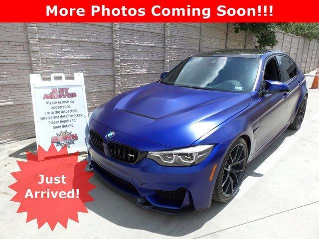 2018 BMW M3 Vehicle Photo in San Antonio, TX 78209