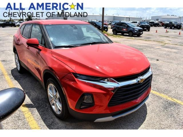2021 Chevrolet Blazer Vehicle Photo in MIDLAND, TX 79703-7718