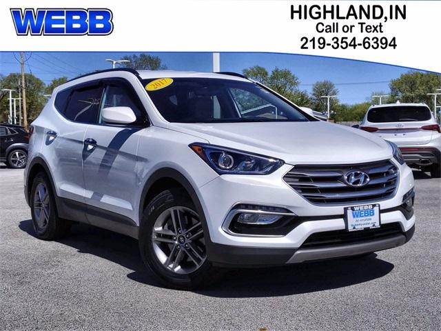 2017 Hyundai Santa Fe Sport Vehicle Photo in Highland, IN 46322