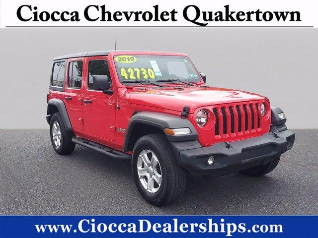 2019 Jeep Wrangler Unlimited Vehicle Photo in Quakertown, PA 18951