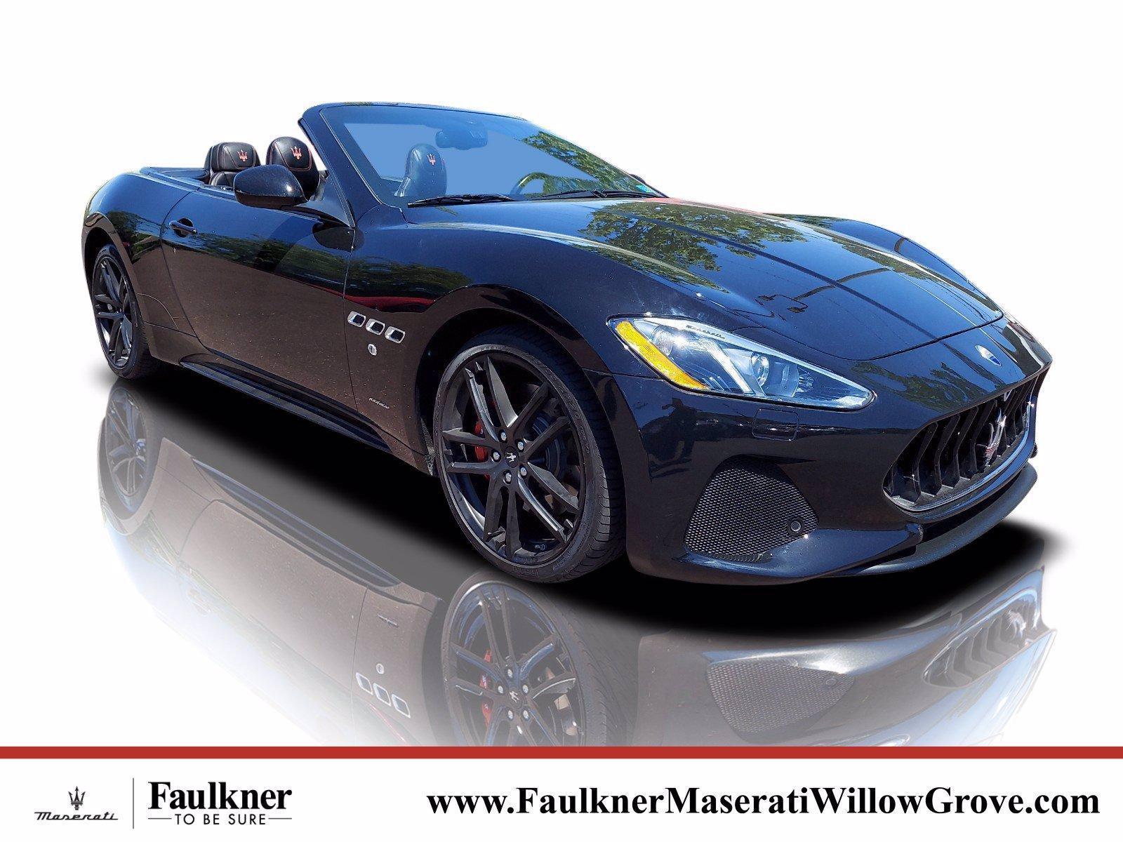 2018 Maserati GranTurismo Convertible Vehicle Photo in Willow Grove, PA 19090