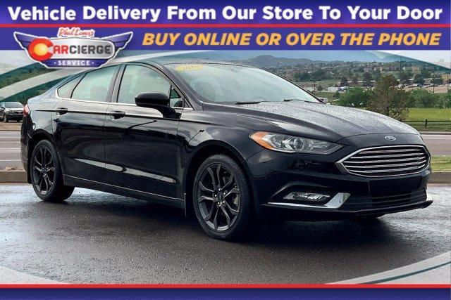 2018 Ford Fusion Vehicle Photo in Colorado Springs, CO 80905