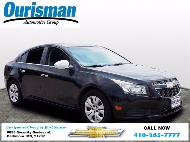 2012 Chevrolet Cruze Vehicle Photo in BALTIMORE, MD 21207-4000