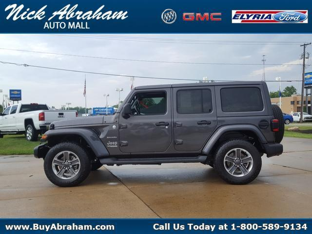 2020 Jeep Wrangler Unlimited Vehicle Photo in ELYRIA, OH 44035-6349