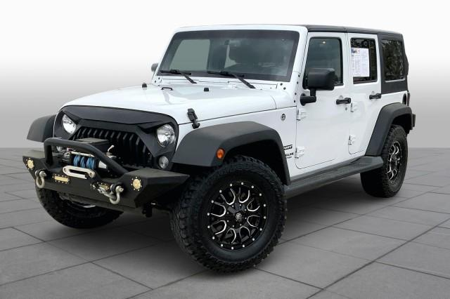2017 Jeep Wrangler Unlimited Vehicle Photo in Houston, TX 77074