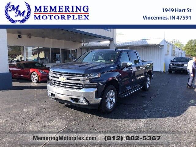 2019 Chevrolet Silverado 1500 Vehicle Photo in Vincennes, IN 47591