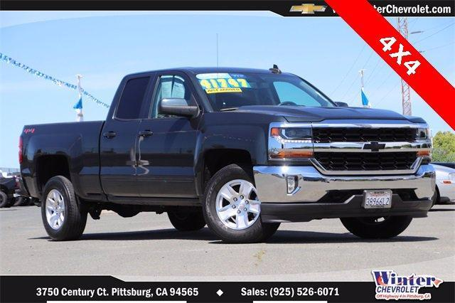 2018 Chevrolet Silverado 1500 Vehicle Photo in PITTSBURG, CA 94565-7121