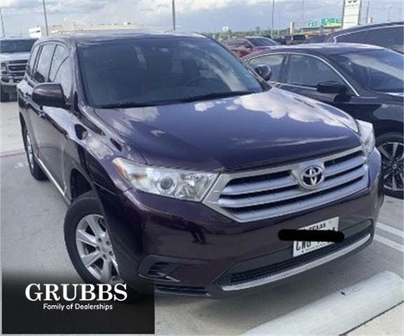 2013 Toyota Highlander Vehicle Photo in Grapevine, TX 76051