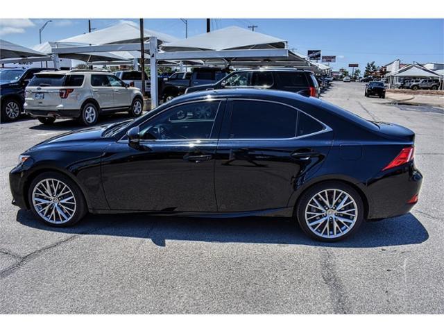 2016 Lexus IS Turbo Vehicle Photo in San Angelo, TX 76901