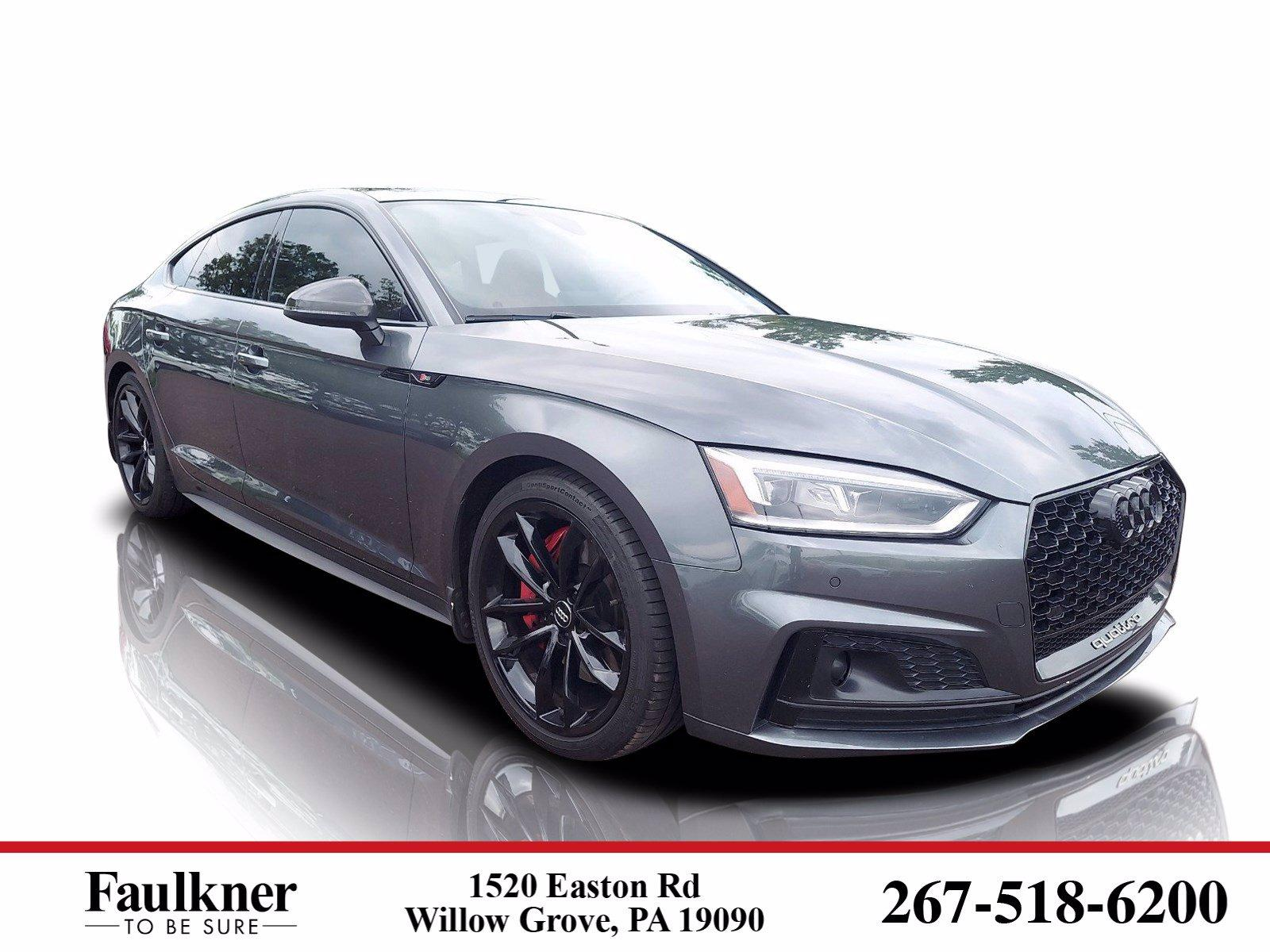 2018 Audi S5 Sportback Vehicle Photo in Willow Grove, PA 19090