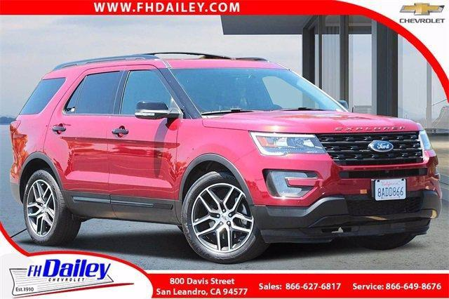 2017 Ford Explorer Vehicle Photo in SAN LEANDRO, CA 94577-1512