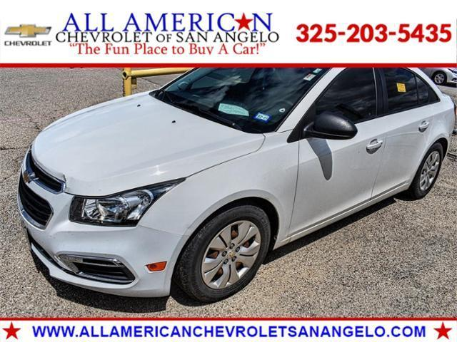 2016 Chevrolet Cruze Limited Vehicle Photo in SAN ANGELO, TX 76903-5798