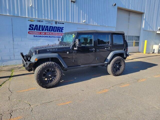 2016 Jeep Wrangler Unlimited Vehicle Photo in Gardner, MA 01440