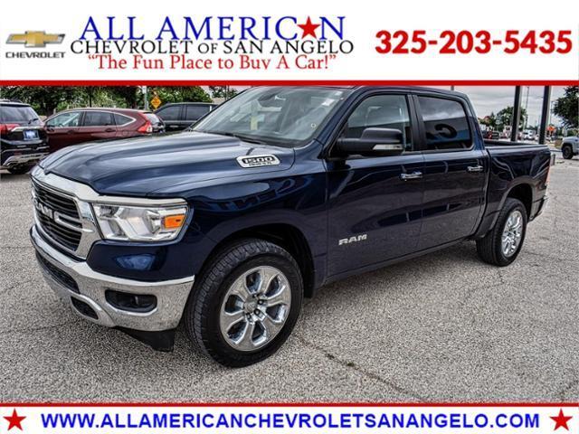 2020 Ram 1500 Vehicle Photo in SAN ANGELO, TX 76903-5798