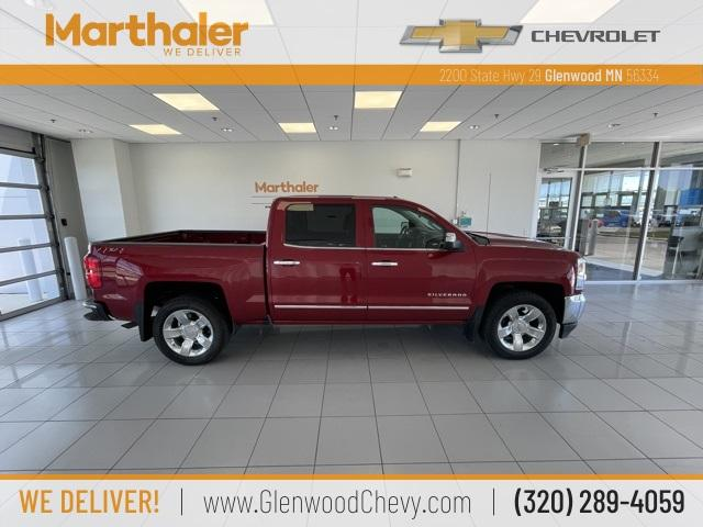 2018 Chevrolet Silverado 1500 Vehicle Photo in Glenwood, MN 56334