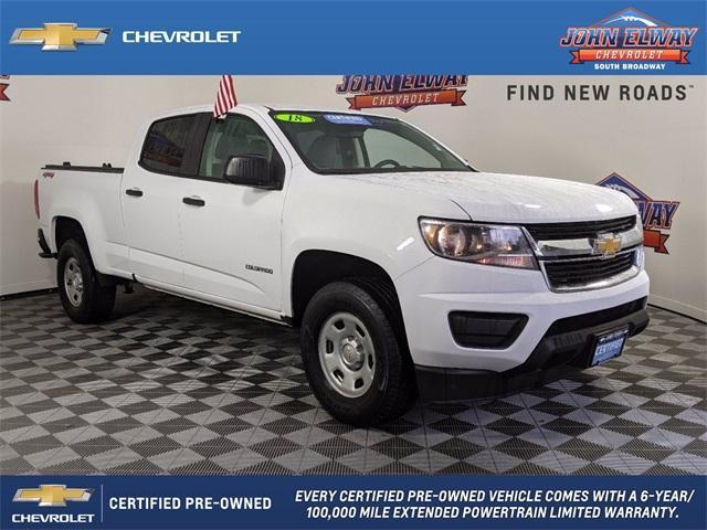 2018 Chevrolet Colorado Vehicle Photo in Englewood, CO 80113
