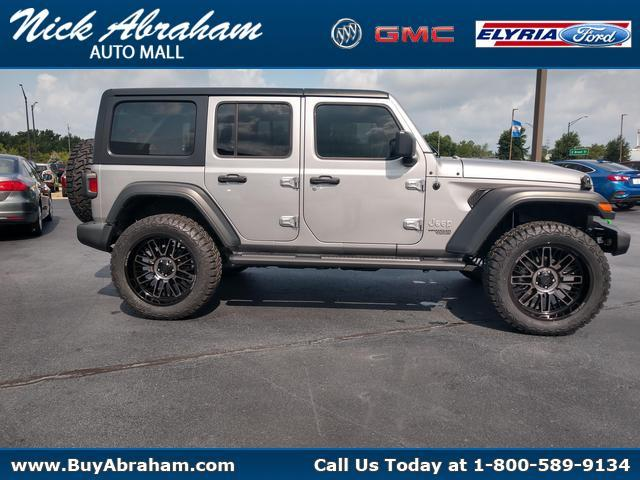 2018 Jeep Wrangler Unlimited Vehicle Photo in ELYRIA, OH 44035-6349