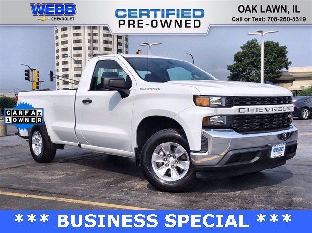 2020 Chevrolet Silverado 1500 Vehicle Photo in OAK LAWN, IL 60453-2560