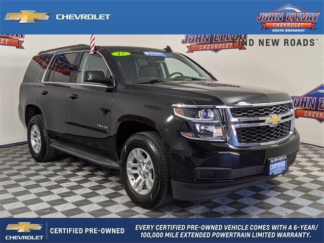 2017 Chevrolet Tahoe Vehicle Photo in Englewood, CO 80113