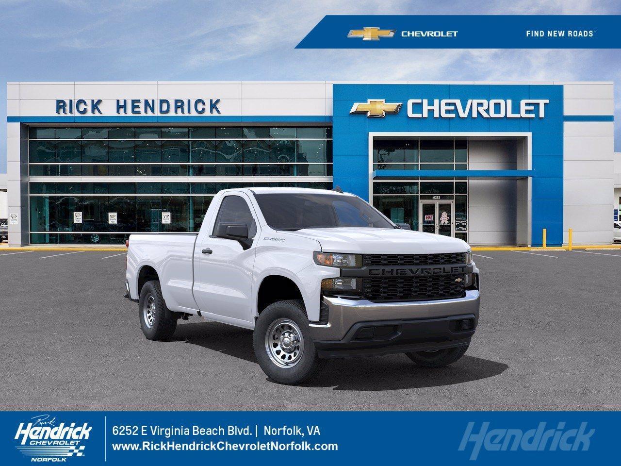 2021 Chevrolet Silverado 1500 Vehicle Photo in NORFOLK, VA 23502-2856
