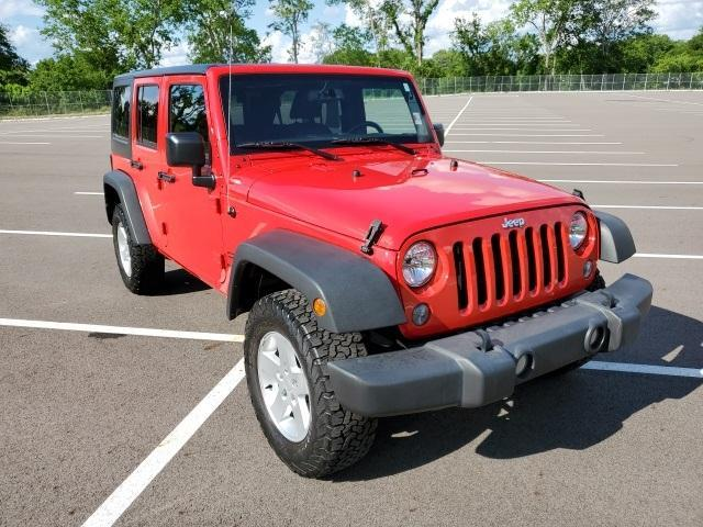 2017 Jeep Wrangler Unlimited Vehicle Photo in Columbia, TN 38401
