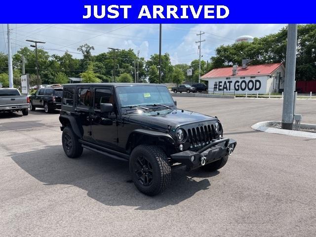 2018 Jeep Wrangler JK Unlimited Vehicle Photo in Clarksville, TN 37040