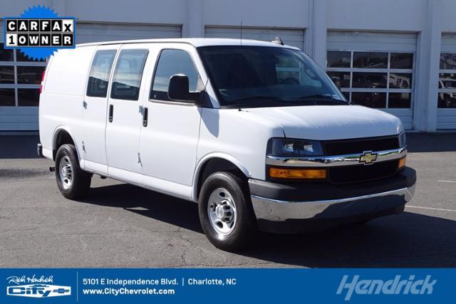2019 Chevrolet Express Cargo Van Vehicle Photo in CHARLOTTE, NC 28212