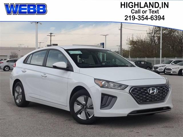 2021 Hyundai IONIQ Hybrid Vehicle Photo in Highland, IN 46322
