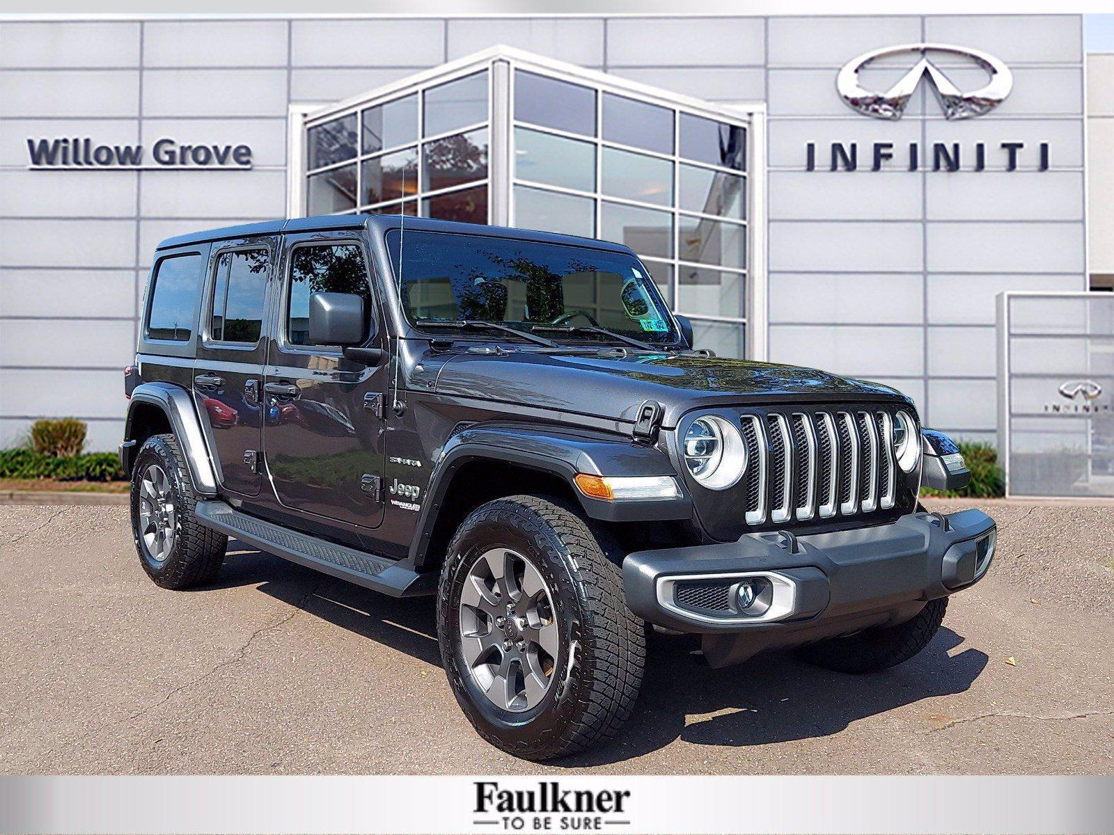 2018 Jeep Wrangler Unlimited Vehicle Photo in Willow Grove, PA 19090