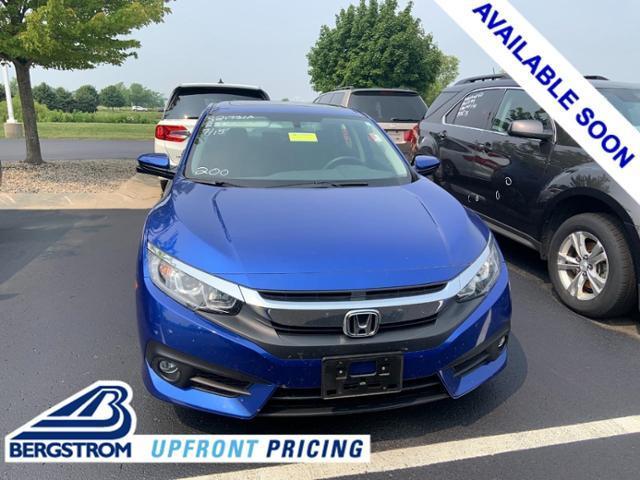 2018 Honda Civic Sedan Vehicle Photo in Oshkosh, WI 54904