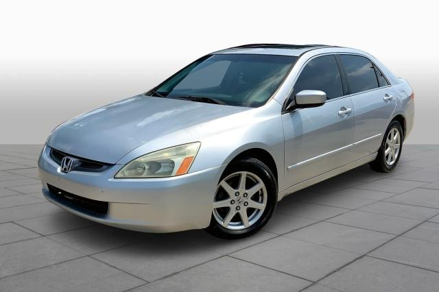Pre-Owned 2003 Honda Accord Sedan EX V6 Automatic with Leather