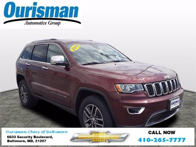 2018 Jeep Grand Cherokee Vehicle Photo in BALTIMORE, MD 21207-4000