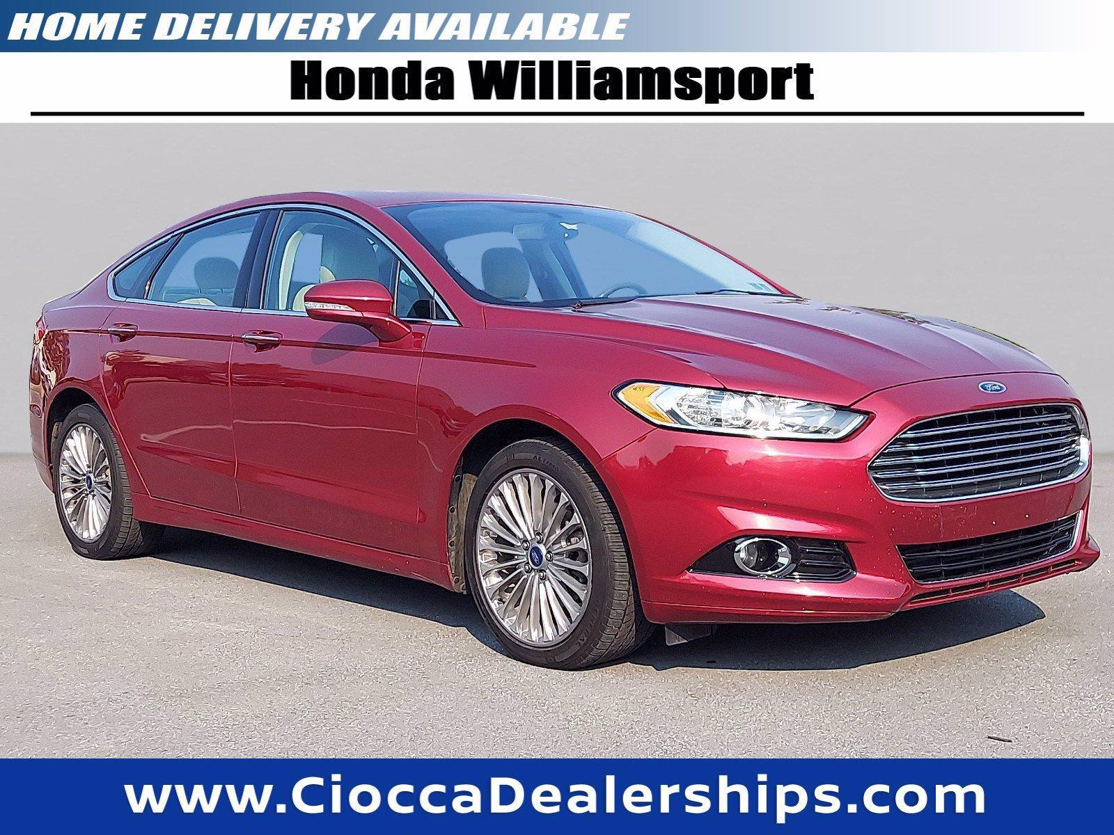 2015 Ford Fusion Vehicle Photo in Muncy, PA 17756