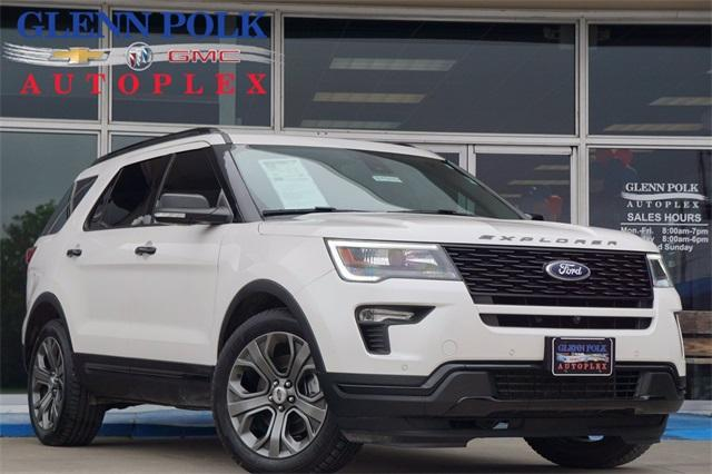 2018 Ford Explorer Vehicle Photo in Gainesville, TX 76240