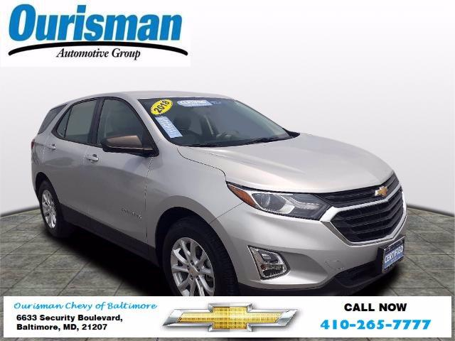 2018 Chevrolet Equinox Vehicle Photo in BALTIMORE, MD 21207-4000