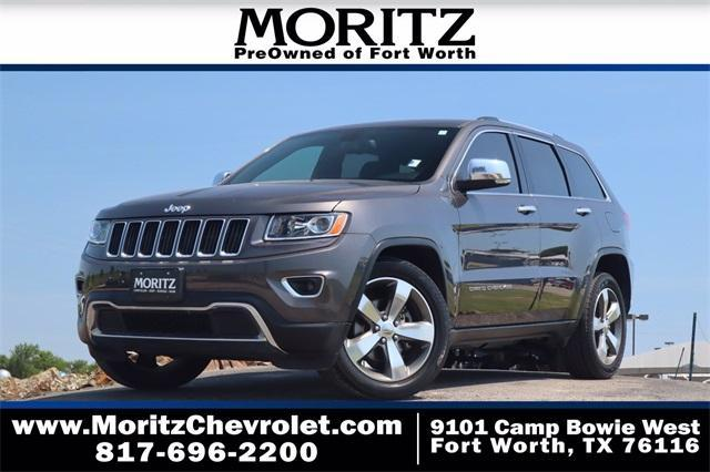 2016 Jeep Grand Cherokee Vehicle Photo in Fort Worth, TX 76116